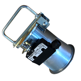 COKM - Flap valve with cone/micro switch